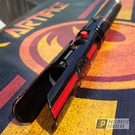 Powder Coating: Nostalgic Red PSB-8060,Ink Black PSS-0106,Lightsaber,Miscellaneous