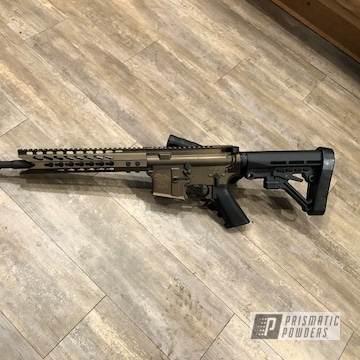 Powder Coated Ar-15 In Pmb-4124 And Pps-4005