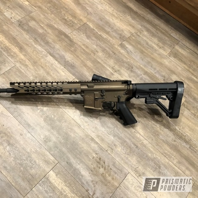 Powder Coating: AR15,Bronze Chrome PMB-4124,Casper Clear PPS-4005