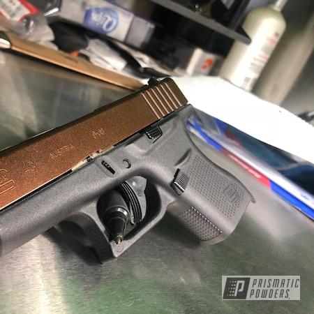 Powder Coating: pistol,Misty Rootbeer PMB-1081