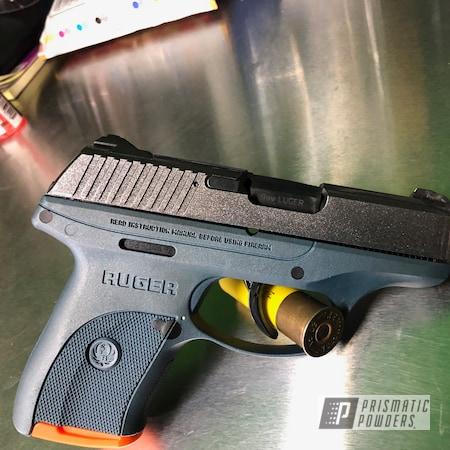 Powder Coating: pistol,Kingsport Grey PMB-5027