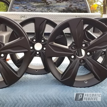 Powder Coated Honda Wheels In Uss-1522