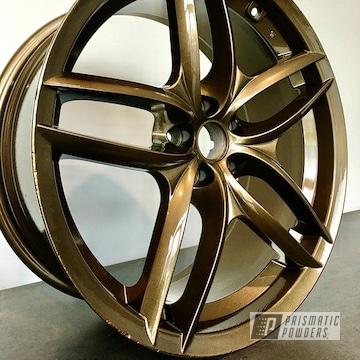 Powder Coated Wheel In Umb-4548
