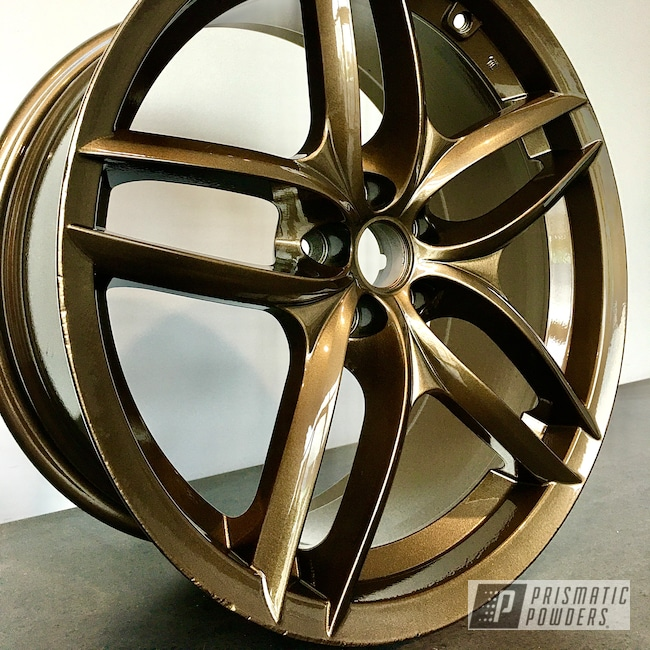 Powder Coating: Wheels,Alloy Wheels,TRIPLE BRONZE UMB-4548