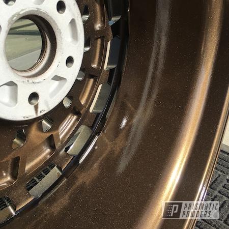 Powder Coating: Wheels,Alloy Wheels,TRIPLE BRONZE UMB-4548