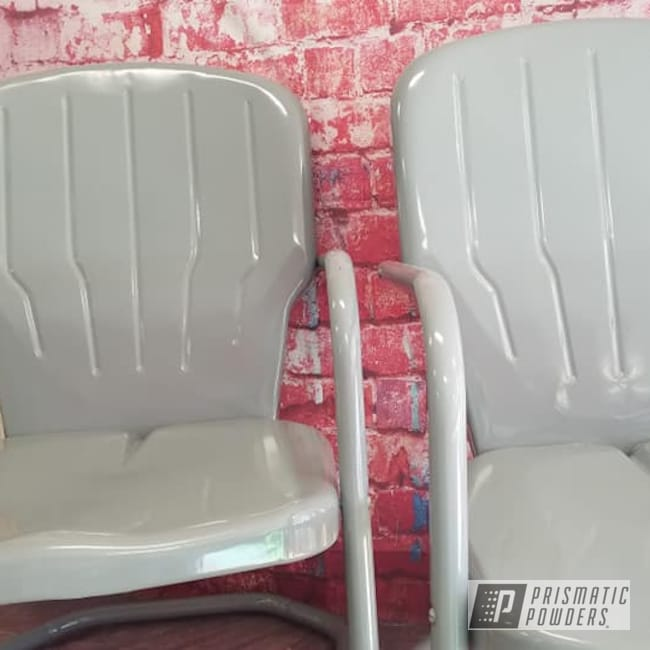 Powder Coating: Vintage Chairs,Patio Furniture,RAL 7046 RAL-7046,Vintage Lawn Chairs,Lawn Chairs,Lawn Chair