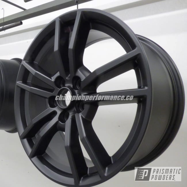 Powder Coating: Wheels,BLACK JACK USS-1522,Ford Mustang,Ford,Automotive Wheels