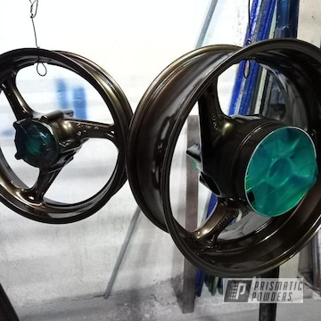 Powder Coated Wheels In Pmb-4124