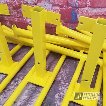 Powder Coated Merry Go Cycle Parts In Ral 1018