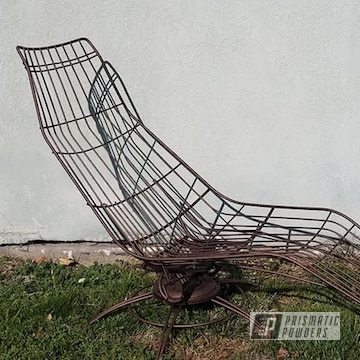 Powder Coated Lawn Chair In Pwb-2878