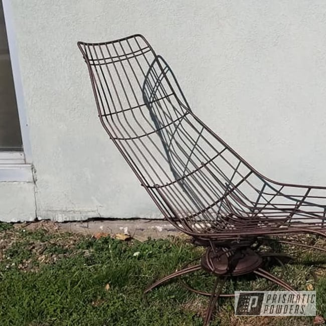 Powder Coating: Lounge Chair,Patio Furniture,Splatter,Lawn Chair,Splatter Copper PWB-2878
