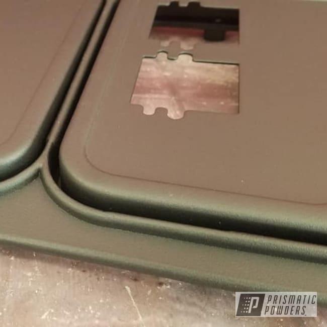 Powder Coating: Pinball Machine,Splatter Black PWS-4344,Splatter Black,Coin Door