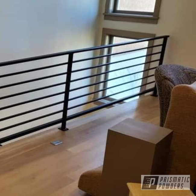 Powder Coating: Railings,BLACK JACK USS-1522,Handrailings,Iron Railings,Hand Railings