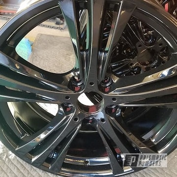 Powder Coated Wheels In Pss-0106