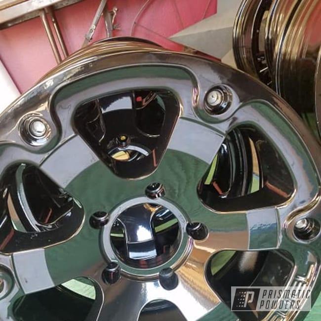 "Powder Coating: Alloy Wheels,20"" Wheels,Ink Black PSS-0106,Aluminum Rims,Aluminum,Aluminum Wheels"