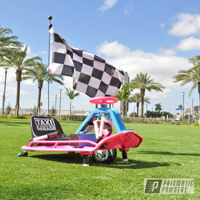 Powder Coated Two-tone Crazy Cart In Pss-3063 And Ral 5012