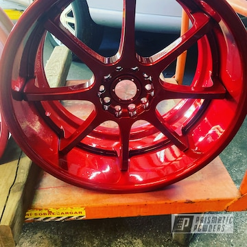 Powder Coated Acura Wheels In Ups-1506 And Pss-10300