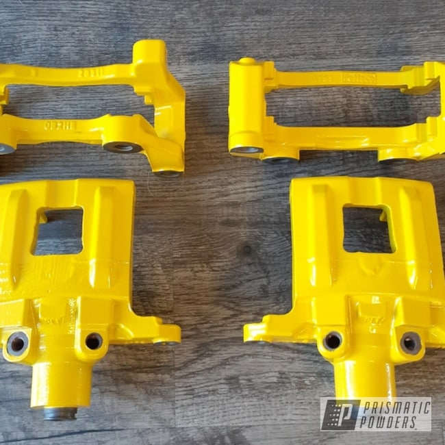 Powder Coating: Calipers,Brake Calipers,Yes Yellow PSS-5691