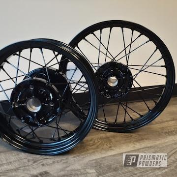 Powder Coated Motorcycle Wheels In Uss-2603