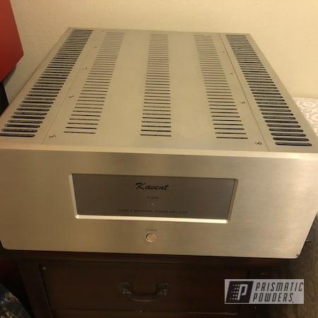 Powder Coating: Power Amplifier,Amplifier,Power Amp,SUPER CHROME II PSS-10300,Rancher Red PPB-6415