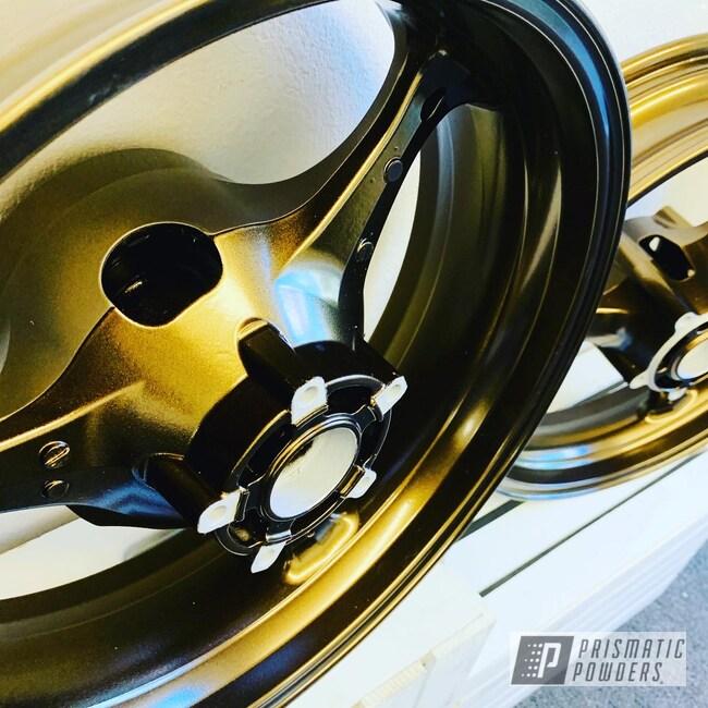 Powder Coating: Suzuki GSXR,Motorcycle Rims,Bronze Chrome PMB-4124,Suzuki,GSXR 750