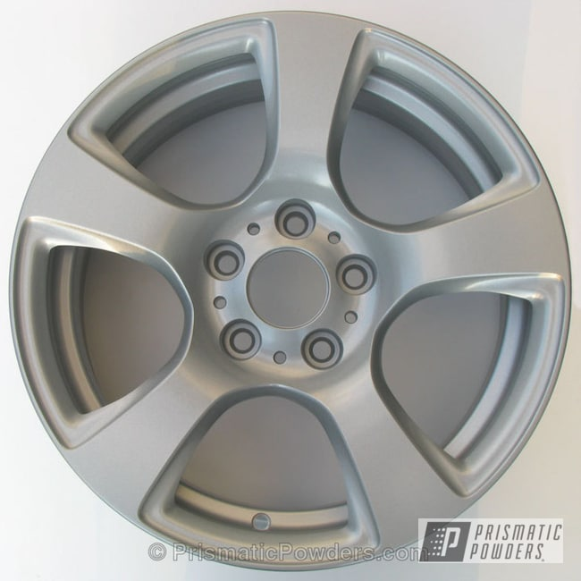 Powder Coating: Wheels,Custom,BMW Wheels,silver,powder coating,powder coated,Prismatic Powders,Soft Silver PMB-4663,grey