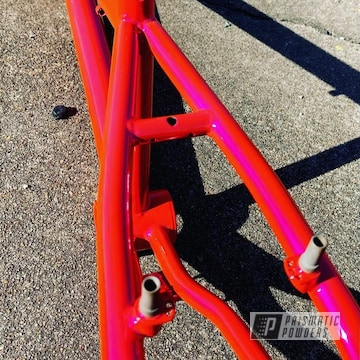Powder Coated Bmx Frame In Pss-10300 And Pps-5875