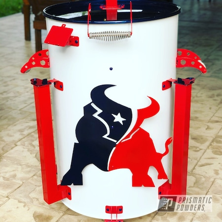 Powder Coating: Smoker,Slow Cook,Very Red PSS-4971,Gloss White PSS-5690,Misty Midnight PMB-4239,grill,Outdoor Cooking