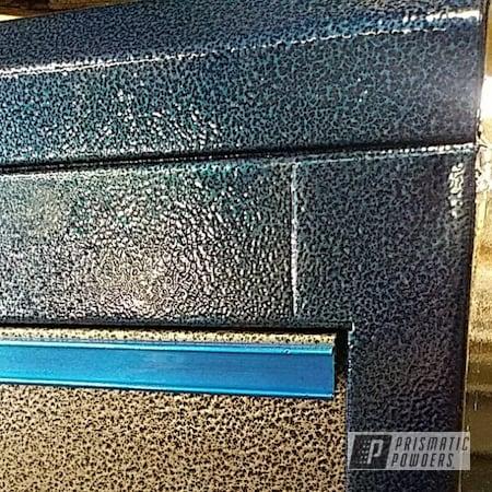 Powder Coating: LOLLYPOP BLUE UPS-2502,tool box,US General,Silver Artery PVS-3014