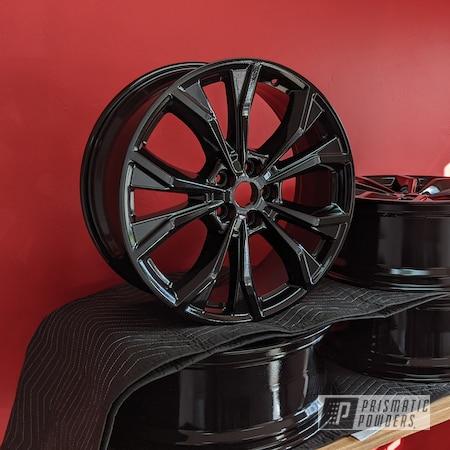"Powder Coating: Wheels,20"" Wheels,Rims,Ink Black PSS-0106,Ford"