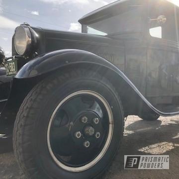 Powder Coated Restored Ford Wheels In Uss-2603
