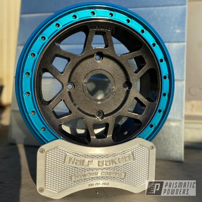 Powder Coated Custom Utv Wheels In Pss-10300, Pmb-5913 And Ppb-4446