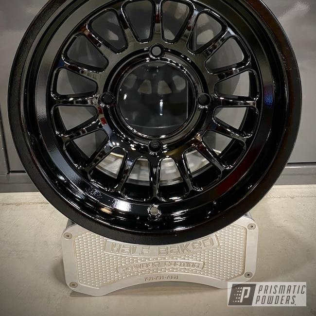 Powder Coating: Wheels,Method Wheels,Ink Black PSS-0106,Method,Method Race Wheels,ink black