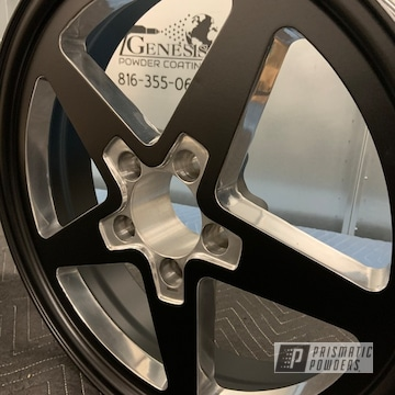 Powder Coated Two Tone Aluminum Wheels In Pss-1168