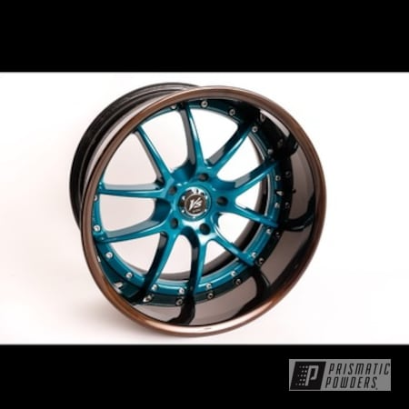 Powder Coating: Alloy Wheels,2 Tone,S2000,Bronze Chrome PMB-4124,Honda