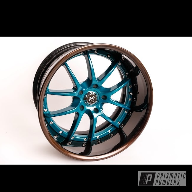 Powder Coating: Alloy Wheels,2 Tone,S2000,Bronze Chrome PMB-4124,Honda