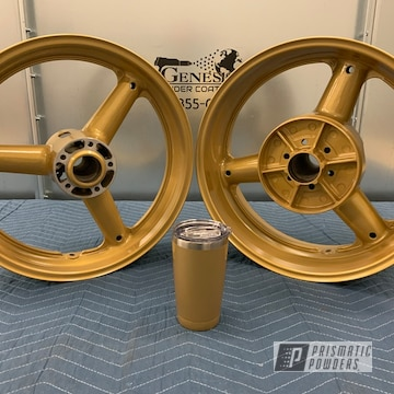 Powder Coated Suzuki Rims In Hmb-4137