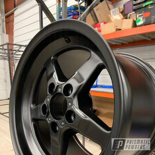 "Powder Coating: Wheels,Stone Black PSS-1168,20"" Wheels,Genesis Powder Coating,Powder Coated Wheels,Custom Powder Coating,Car Parts,Racing Wheels,Aluminum Wheels"