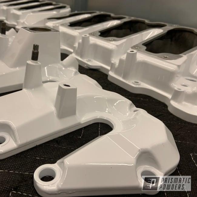 Powder Coating: Truck Parts,Dodge Cummins,Dodge,Cummins,Diesel,Genesis Powder Coating,Custom Powder Coating,Diesel Parts,Snowcone White PSS-4369