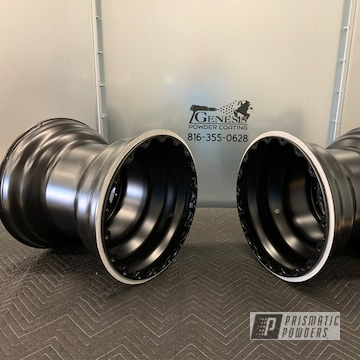 Powder Coated Dragster Wheels In Pss-1168