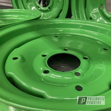 Powder Coated Steel Wheels In Pss-4517