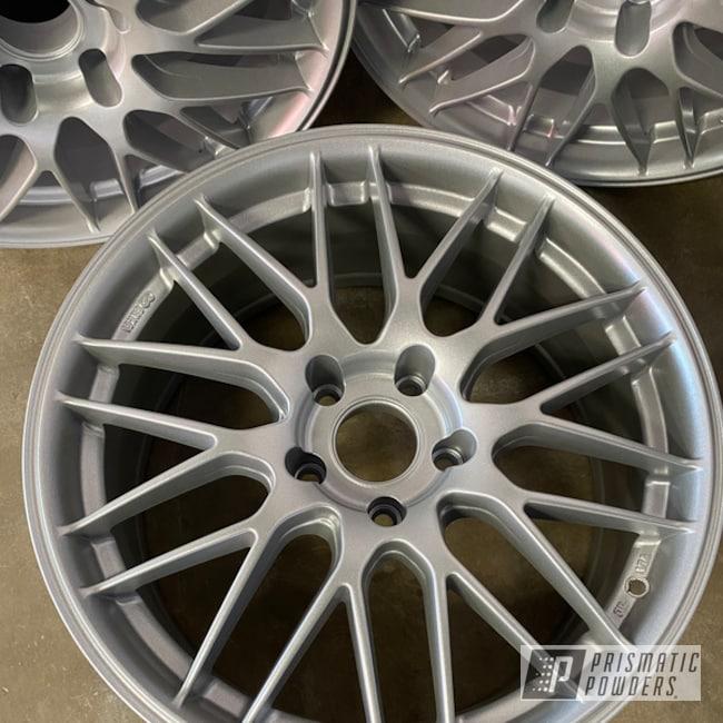 "Powder Coating: Wheels,19"" Wheels,Silver Sparkle PPB-4727"