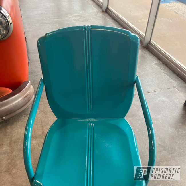 Powder Coated Lawn Chair In Pss-0950