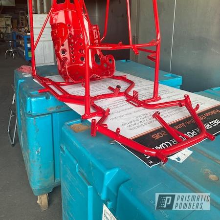 Powder Coating: Very Red PSS-4971,Racing Kart