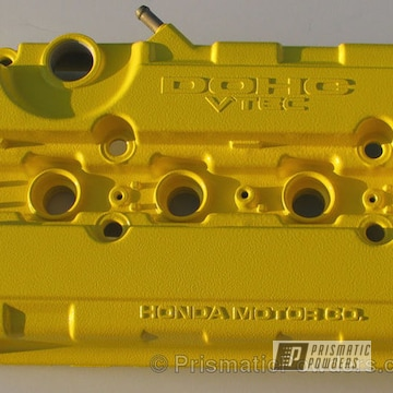 Canary Yellow Valve Cover