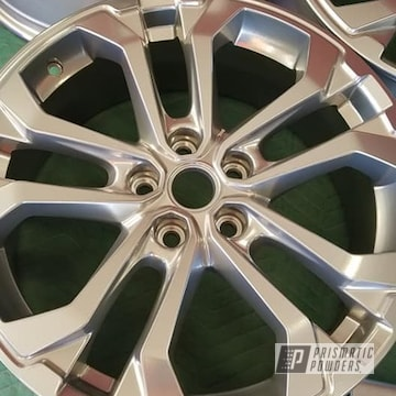 Powder Coated Wheels In Pps-2974 And Pss-10300