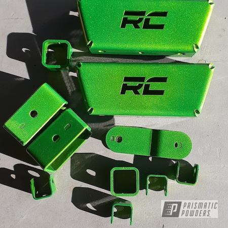 Powder Coating: Automotive,Illusion Lime Time PMB-6918,Clear Vision PPS-2974,Lift Kit