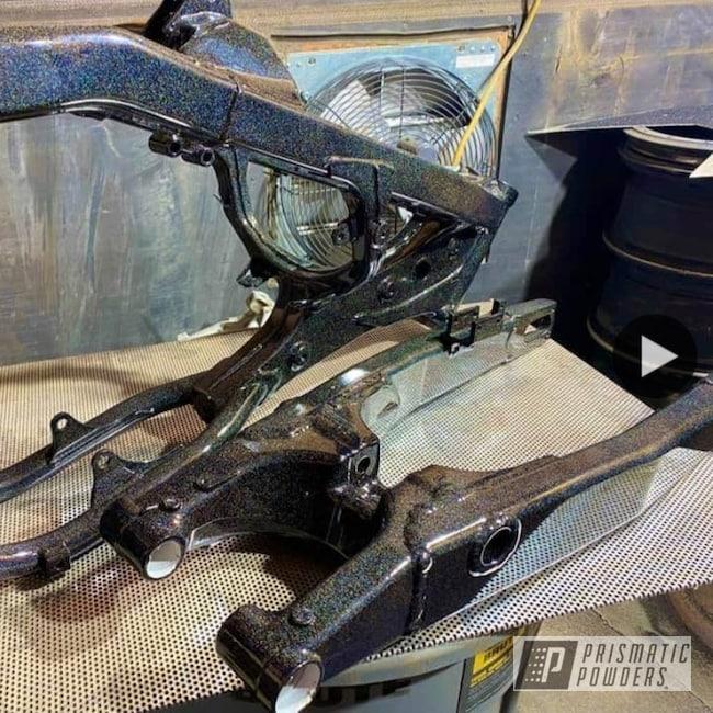 Powder Coating: Clear Vision PPS-2974,Dirt Bike Parts,City Lights PMB-2689,Dirtbike Frame,Motorcycles,Dirt Bike Frame,Dirt Bike