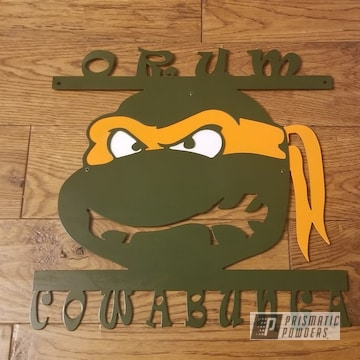 Powder Coated Custom Sign In Pss-0879 And Psb-6876