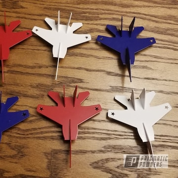 Powder Coated Toy Airplanes In Pss-0845, Pss-4971 And Pss-5690